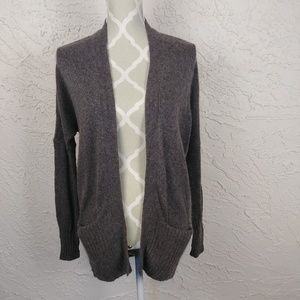 Azure Skies Cashmere Open Front Cardigan